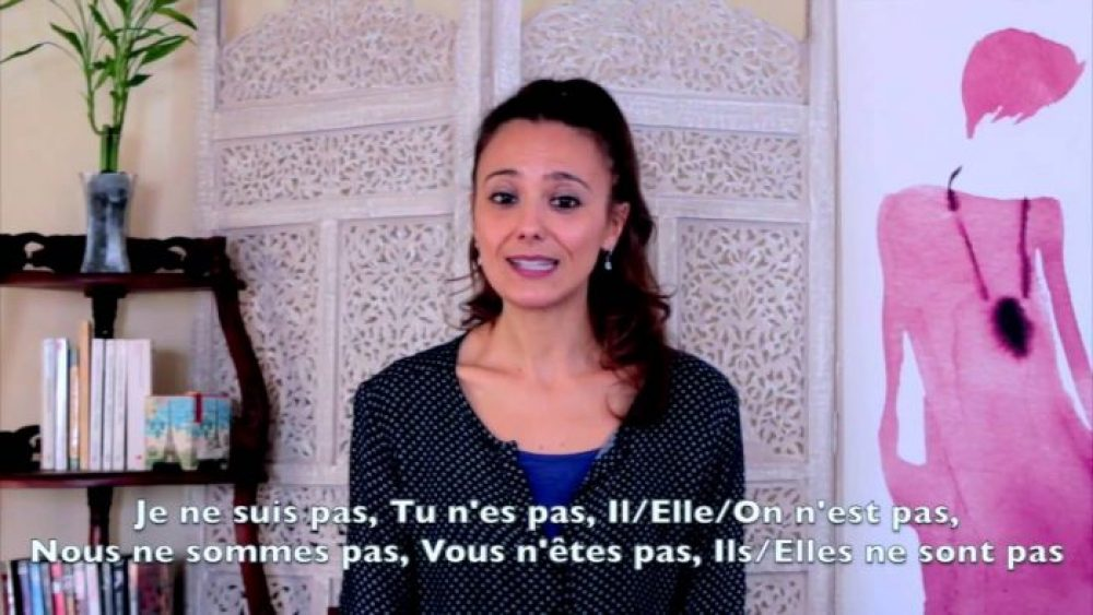 French for Beginners Lesson 3.2 on the negative of Être